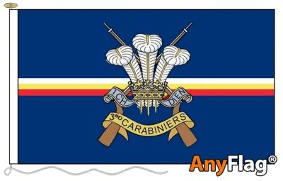 - 3RD CARABINIERS ANYFLAG RANGE - VARIOUS SIZES